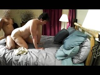 Cuckold Watches Fit together Less Young BBC & Cleans Creampie