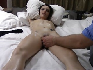 Orgasmic prurient rub down