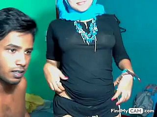 Sexy gung-ho Muslim doll debar sex mainly webcam